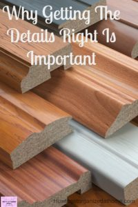 Making sure you define the details in your project is just as important as the budget!