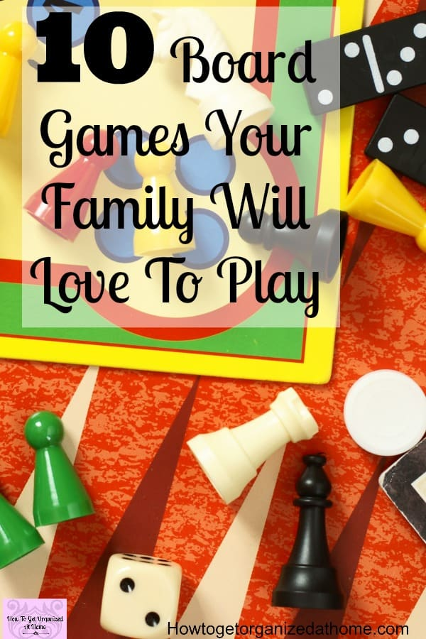 Board games that you will love to play on game night, from classics to games for kids of all ages. This post has it all!