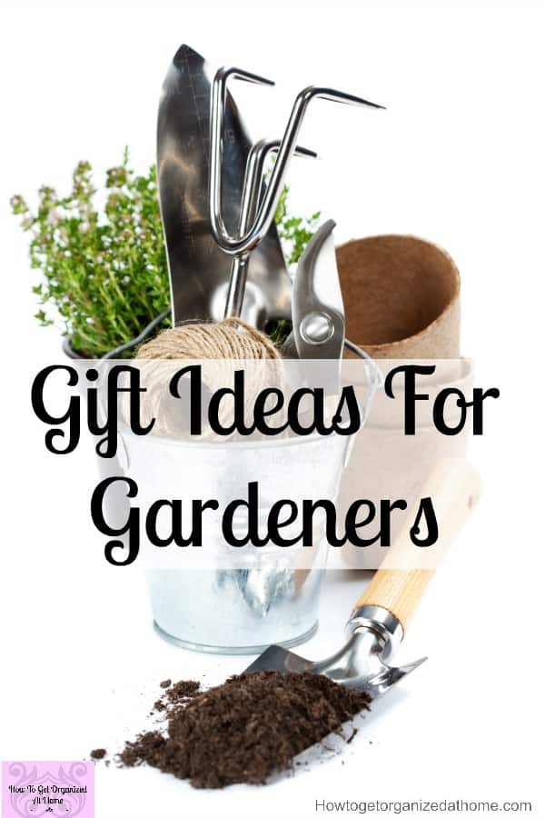 Looking for a Christmas gift for a gardener? Here's a great list of gifts that any gardener will love!