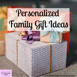 Custom made gifts are special and perfect! They make wonderful gifts at this time of the year!