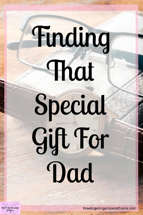 Do you need help finding that special gift for your dad? Do you want to find something a little different that you know he will love? Gift buying for the men in your life doesn't have to be difficult!
