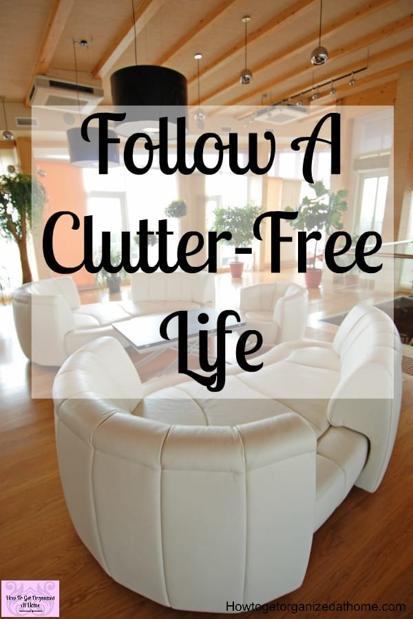 Do you need tips to help you declutter your home and life? Getting a clutter-free home is always something you have to work on, it doesn't just happen! Clearing the clutter not only saves you money it also makes life and cleaning so much easier!