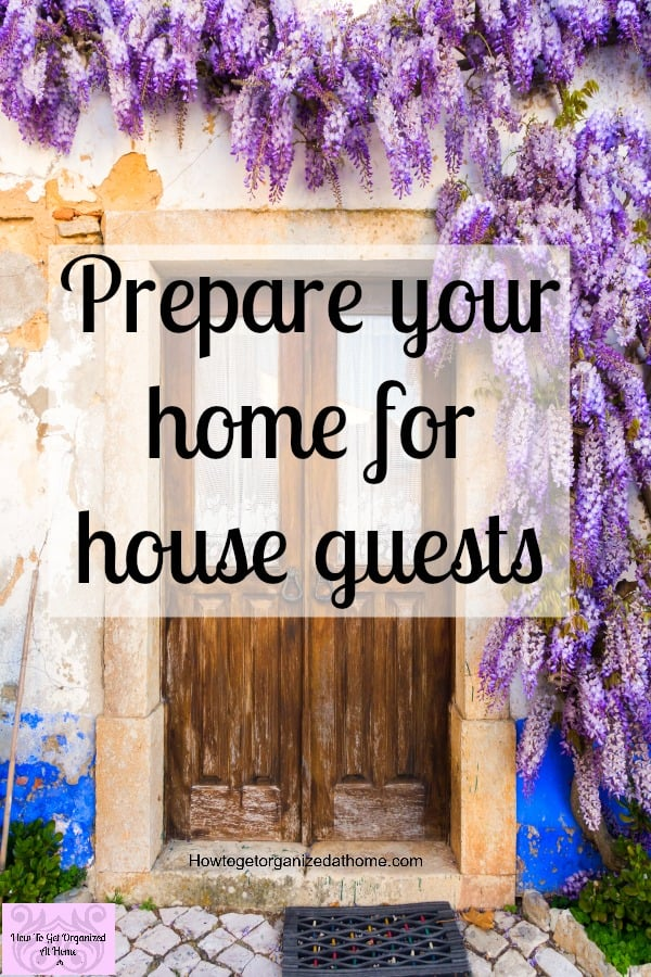 Is your home ready for house guests? Do you worry about what they will think about your housekeeping? Don't panic I've got you covered on how to get your home company ready!