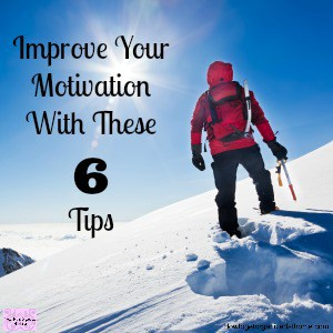 Do you need help with motivation? Are you struggling to get going?
