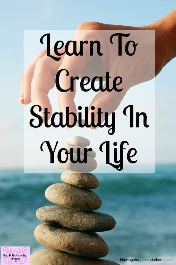 Improve your mental health and create stability in your life at the same time! Learn to look after your mental health and see how this positive move can help with your productivity and get so much more done in your life, not just your day!