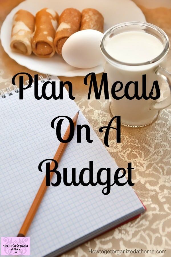 Meal plans and saving money on your budget go together! If you work the meal plan the savings will come! These tips will get you ready to go in no time at all! Menu planning takes the stress out of your evening meal!