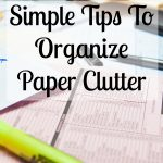 Simple paper clutter organization tips that are easy to follow and will help you declutter and organize the paper in your home! Don't make common mistakes with your paper clutter and change how you deal with it today!