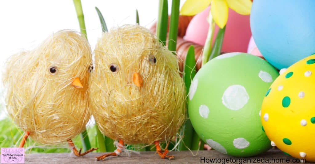 Create your own Easter cards and decorations!