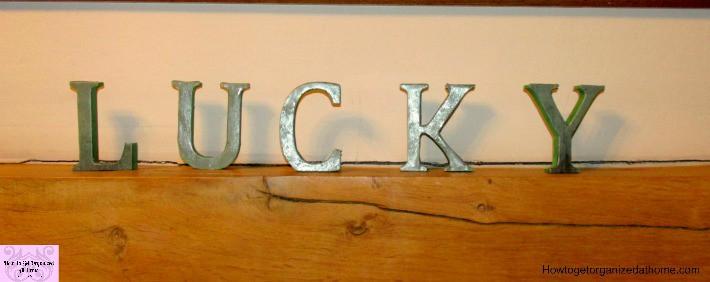 DIY Lucky Sign