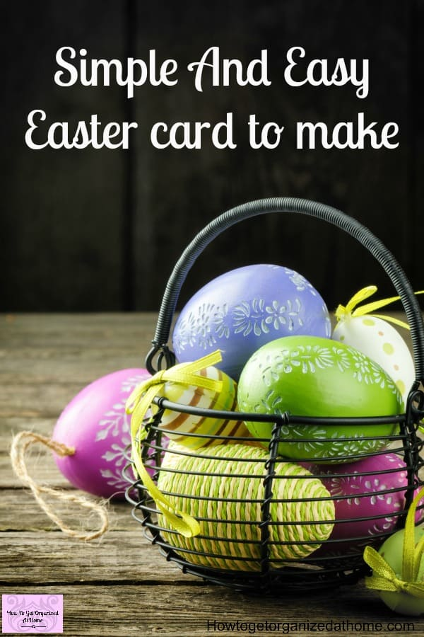 Make a cute and simple easter card with your family make a cute and simple easter card negle Image collections