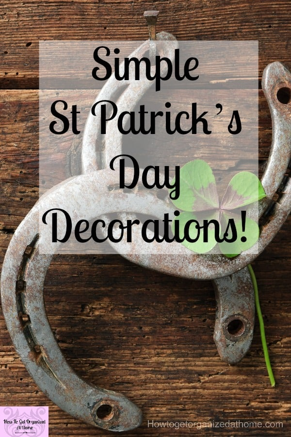 Are you looking for ideas for DIY St Patrick's Day decorating ideas! Find the full tutorial on how to make your very own St Patrick's Day sign!