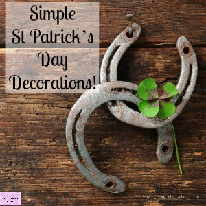 Make your own St Patty's Day Lucky sign!