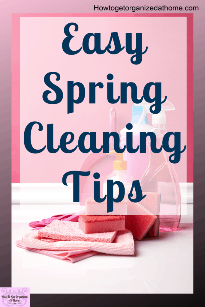 Are you looking for some amazing spring cleaning tips and hacks that will make your house sparkle and shine. Don't be scared to spring clean your home with these simple and easy spring cleaning tips and ideas for busy moms everywhere. Click here to read more. #springcleaning #home #cleaning