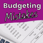 common budget mistakes