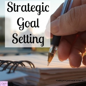 Set SMART goals and really see the difference in your planning!