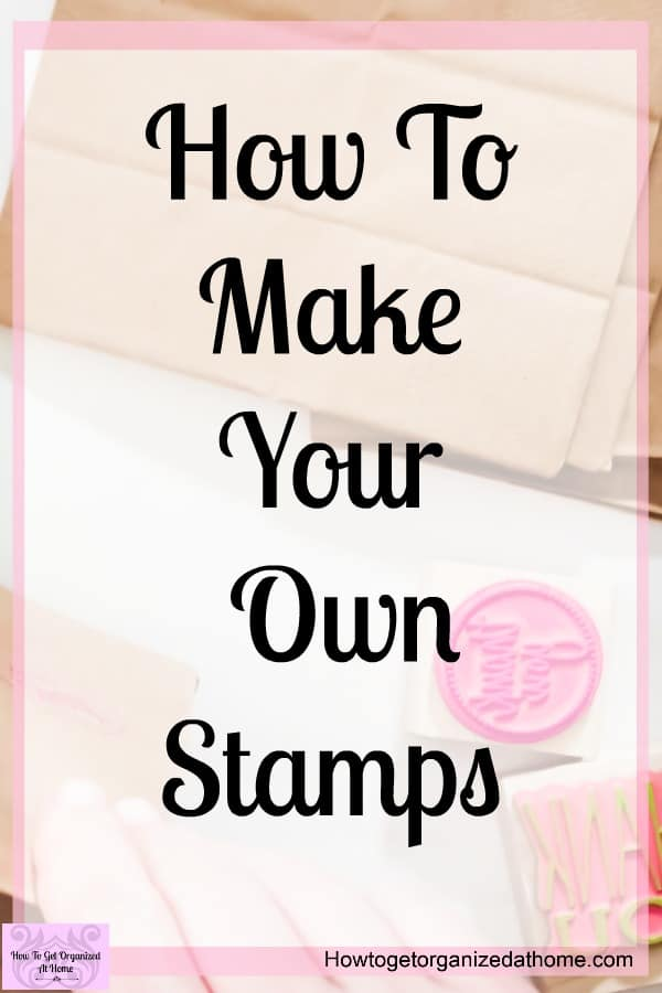 How to make your own custom stamps? Is this something that you want to do, it's simple and fun to do too! There is no cutting involved!