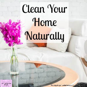 What are natural cleaning products? For me, they are cleaning products that aren't full of harmful chemicals!