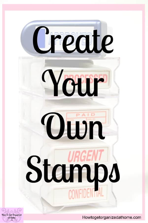 Have you ever wanted to make your own custom stamps at home? You can with the Silhouette Mint and it's amazing and really simple. Follow my step by step process and start making your own stamps!