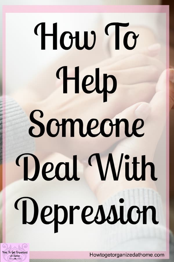 Do you need help to support someone going through depression? There are ways to help with the recovery process, get the right help for someone with depression and get them on the right path to recovery!