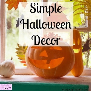 Inexpensive and super simple ideas for Halloween fun with these easy to make decorations!