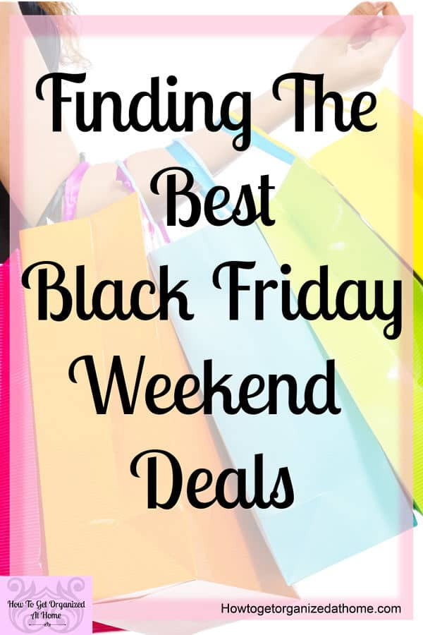 Let me help you find some of the best Black Friday deals! There are so many that sometimes it's easy to get lost in the number of deals available!