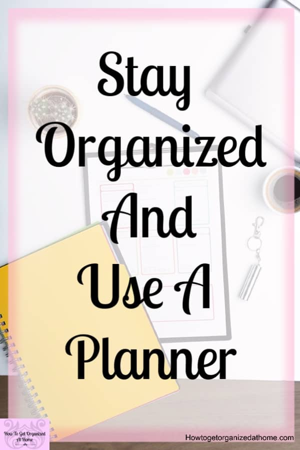 Are you looking for Planners and organization tips? Do you want to take control of your life? Using a planner is an amazing tool and it could help you to get organized!