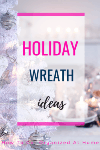 Making your own holiday wreath is fun and something I'm loving this year. Get inspired for your own holiday wreath there are some amazing examples. Don't be scared to put your own stamp on your holiday wreath design. #holiday #wreath #holidaywreath