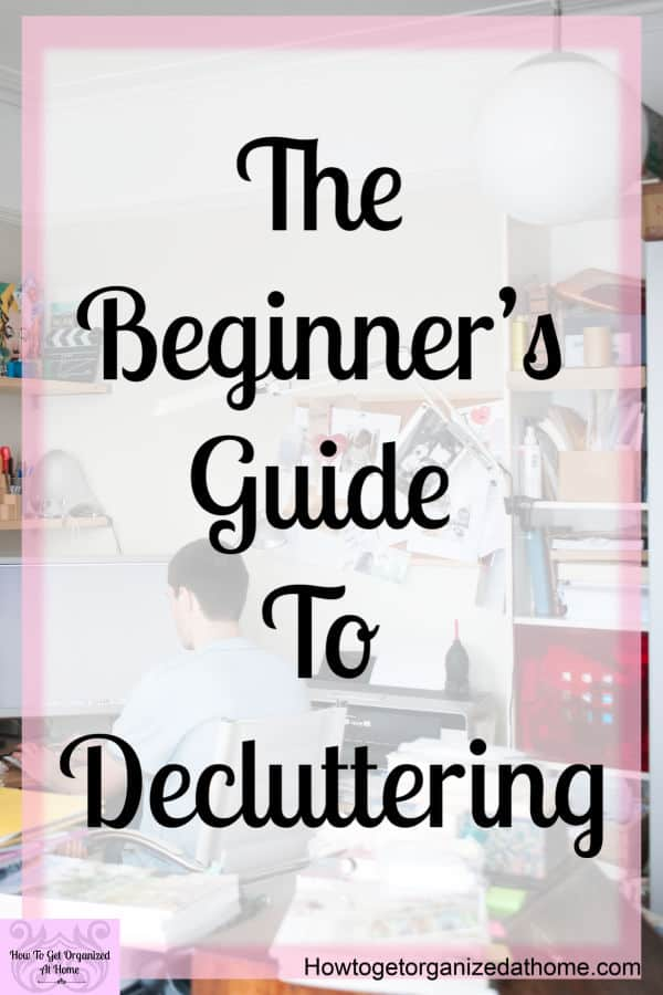 When it comes to clutter in our homes, often we don't see it! Learn these simple tips to live in a clutter free home! Start your decluttering today and declutter that messy room for good!