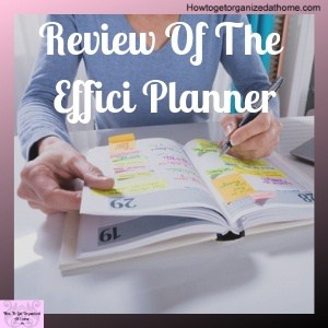 Straightforward And Honest Review Of The Effici Planner