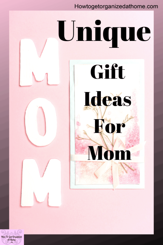 Are you looking for some unique ideas for your mom? Don't be scared you can find her the perfect gift and it won't cost a fortune!