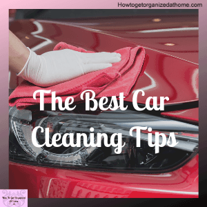 Getting your car clean is something you can do yourself and you might be able to get it to showroom standards with these tips!