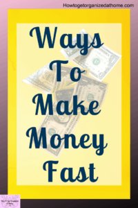 Make more money with these tips and ideas to bring in more cash each month! You can even see my tips for working from home and online too!
