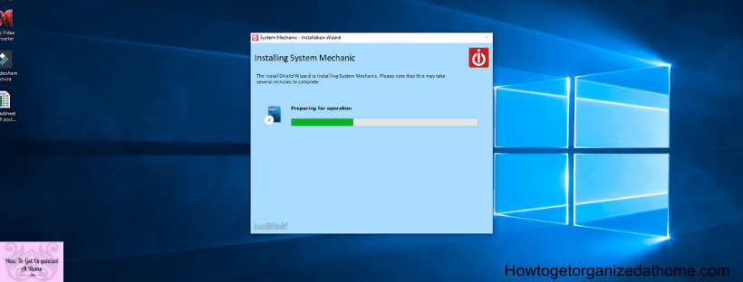 System Mechanic Installation