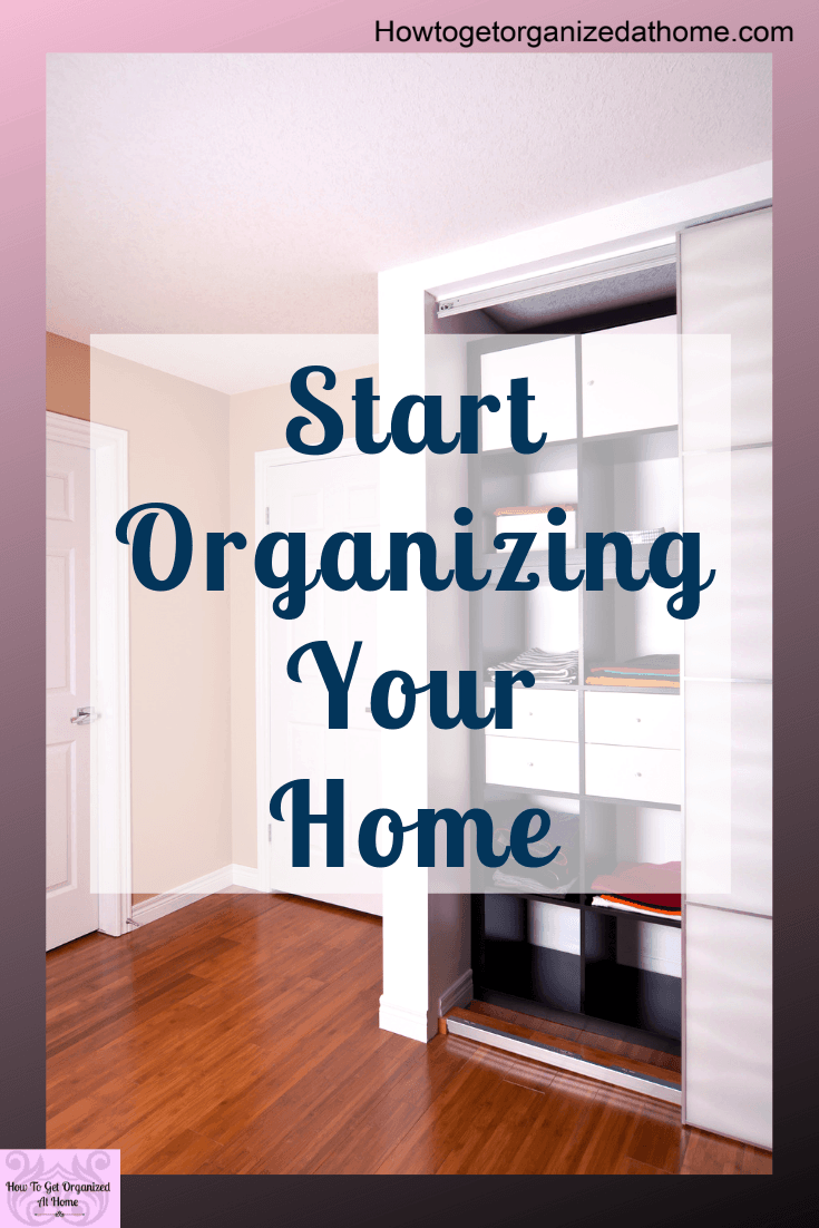 Get organized at home with these simple tips and ideas to help you take back control of your home and life.