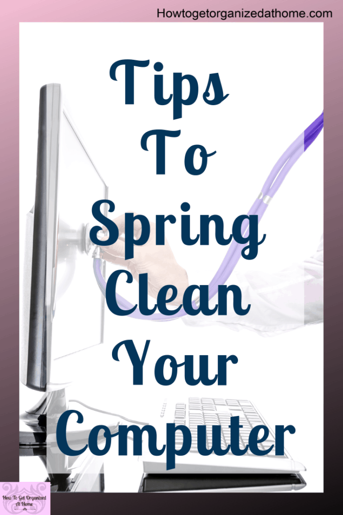 Simple tips and ideas to organize and declutter your computer. Don't get frustrated again with a slow computer or a file you can't find. Check out these tips and ideas.