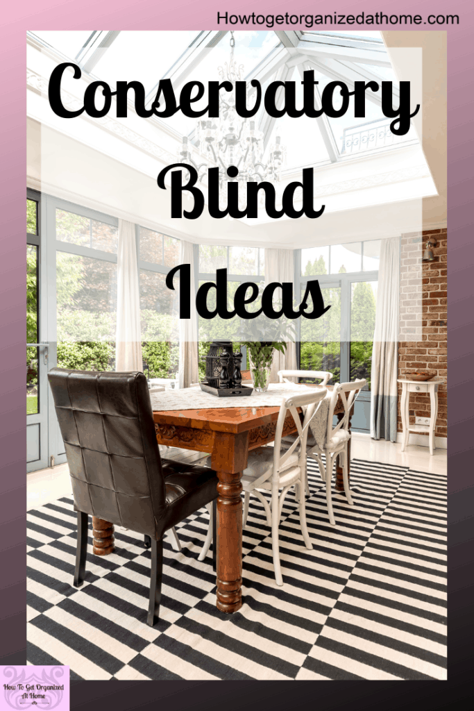 Preventing the glare and giving you privacy in your conservatory is possible, even with no damage to the window or the frame. Find out how in this article. #ad #conservatory #blinds