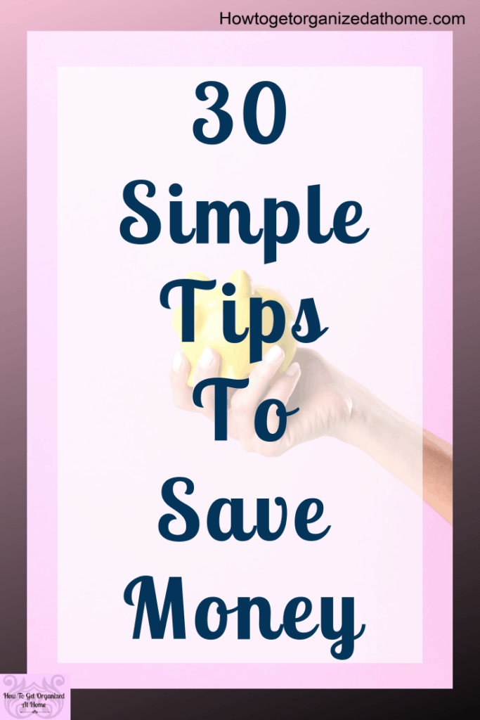 Saving money is tough, it's hard to save money when everything costs so much money! Simple tips and ideas that will help you save money and to stop wasting it too! #money #budget #saving