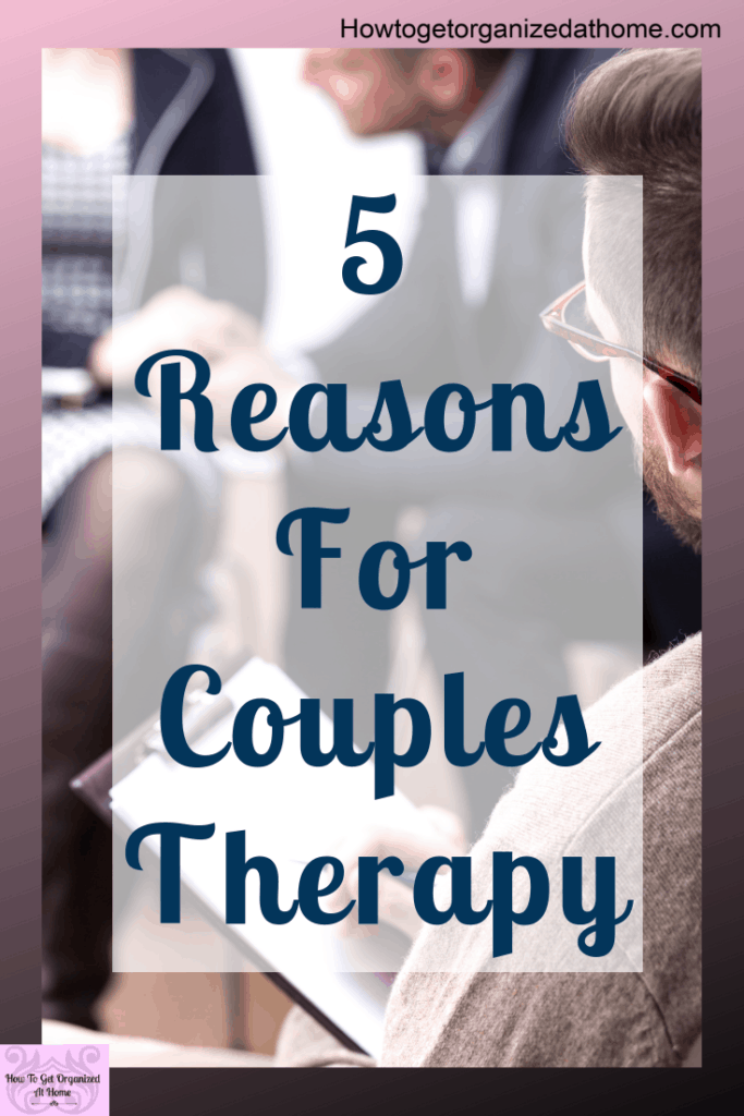 Are you looking at couples therapy and not sure if it's right for you? Check out these 5 reasons to go to couples therapy and see if they apply to you. #depression #therapy #mentalhealth