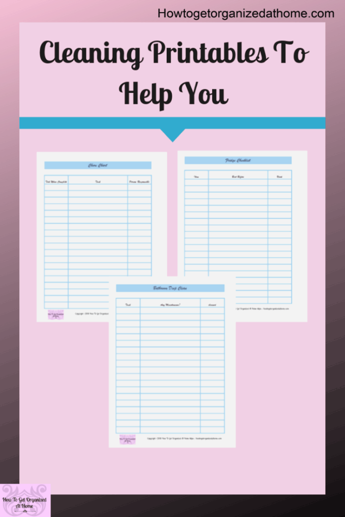 Looking for daily cleaning printables that will help you take back control of your home? These printables will help you tackle those areas of your home that are important but get shoved to the bottom of the to-do pile! Get your home sparkling clean and organized with these simple cleaning printables that I know you will love. #cleaning #printables #cleaningprintables