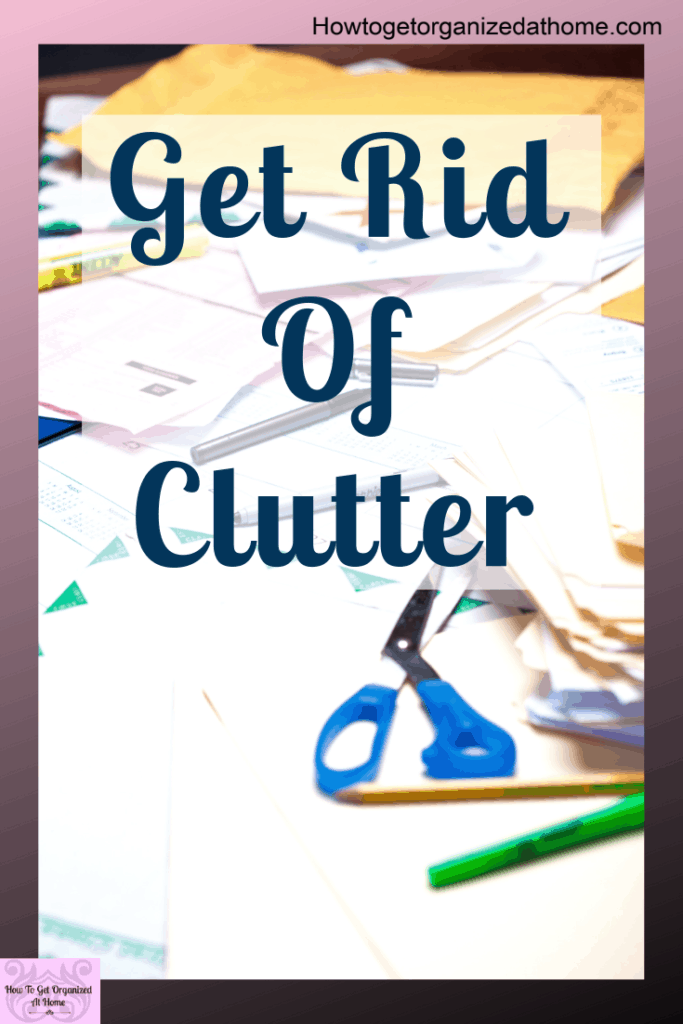 Are you feeling overwhelmed by all your clutter? Learn how to start the process of decluttering with these simple tips and ideas that will help you declutter your home. These simple decluttering tips and ideas will help you understand how to start to change your life with a clutter-free home. #clutter #declutter #home