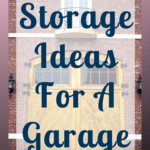 When it comes to organizing your garage don't just dump the items on a shelf, sort through the items and plan a storage solution for everything you own. #organize #garage #garageorganization