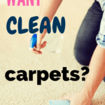 Are you looking for the best carpet cleaning tips? These 5 simple tips will teach you how to clean your carpet and to keep your carpet clean and the best way to deep clean your carpet. You will learn how to avoid making your carpets dirty and how to look after your carpets better. #cleaning #cleaningcarpet #cleancarpet
