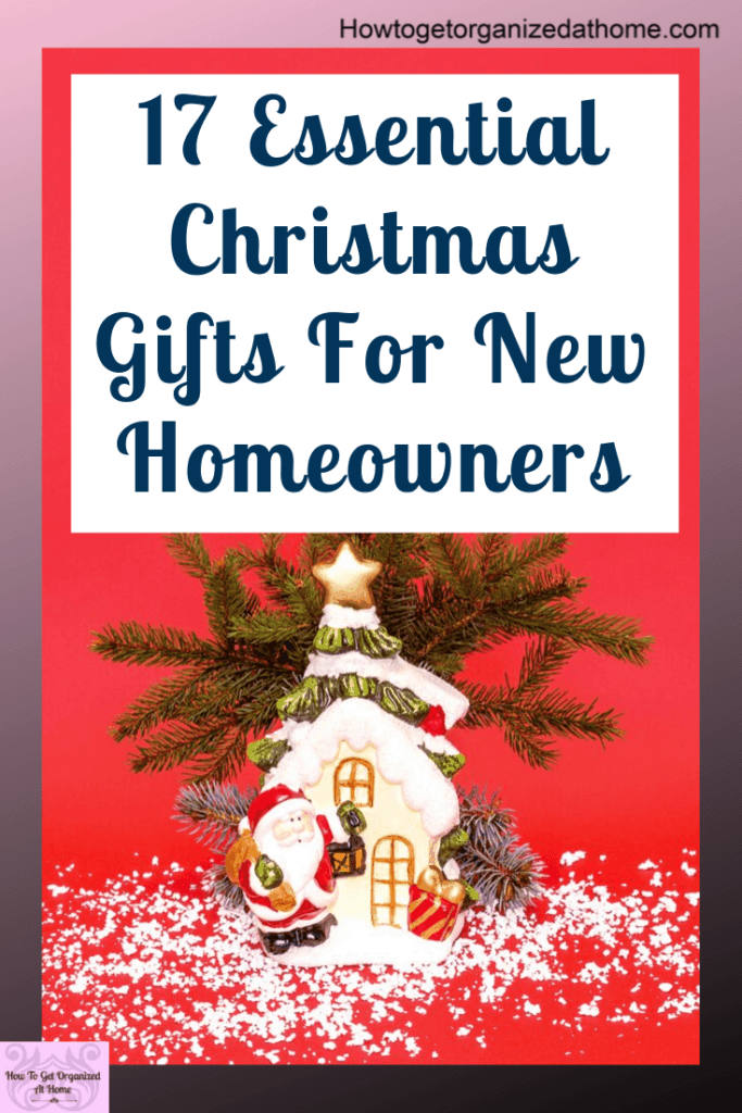 When it comes to Christmas shopping it's often difficult to decide what to buy a person, but knowing what they might need is key. Click to read this must have list of items for new homeowners. #homeowner #newhomeowner #firsthome