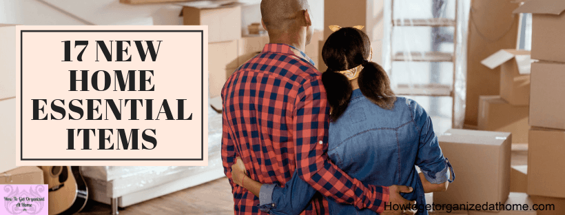 Moving into a new home is stressful, let me take some of that strain away with my list of essential items you will need on your first day.