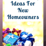 Stuck for ideas for a great Christmas gift for new homeowners? Don't be check out this list on things homeowners need on their first day. #homeowner #newhomeowner #firsthome