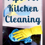 Do you want to know my go-to list of cleaning products I use to keep my kitchen clean and fresh? Here's my kitchen product list! #cleaning #kitchen #kitchencleaning