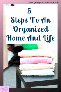 Are you finding it difficult to organize your home? There are things that I think that needs to come before organizing to get the clean and organized home you want. Click the link to find out what they are. #organize #clean #depression