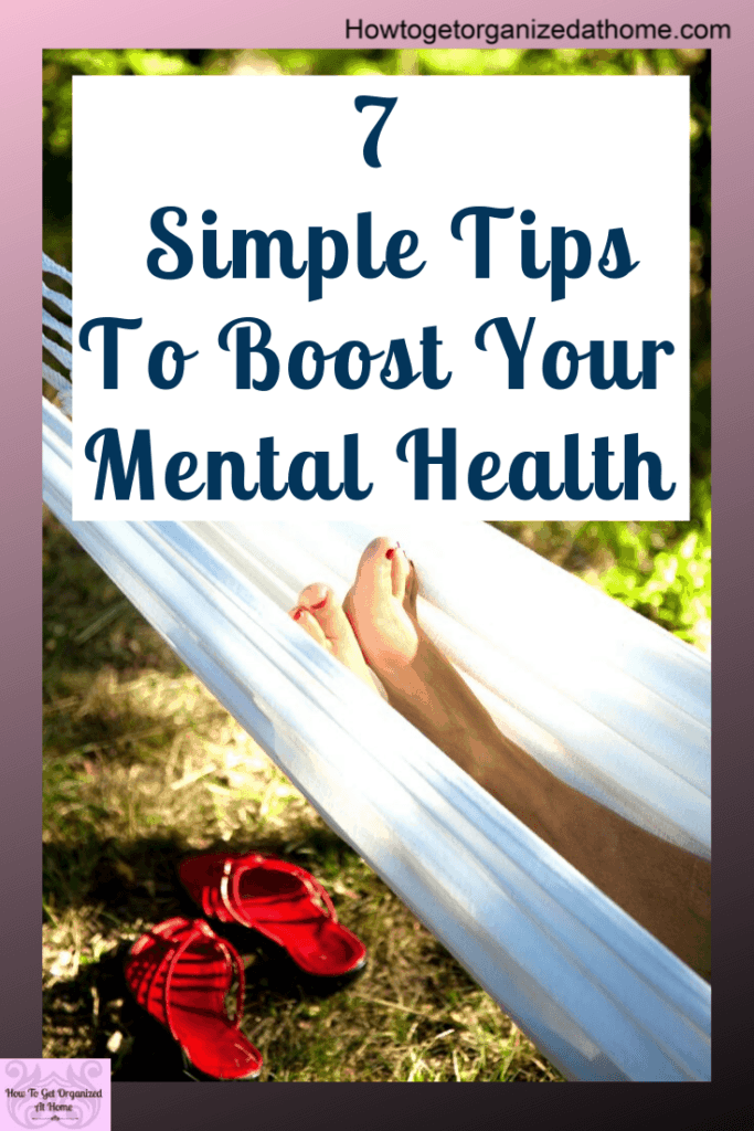 Are you looking for ways to boost your mental health? These simple tips and ideas will help you feel better and put you on the right path to improve how you feel. #mentalhealth #menatlwellbeing