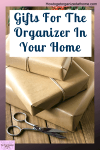 Here are some great organizational gifts for the home any man would love. They are practical, unusal and useful all at the same time. They will inspire you to find the perfect gift for your man. #giftsforhim #gifts #giftguide