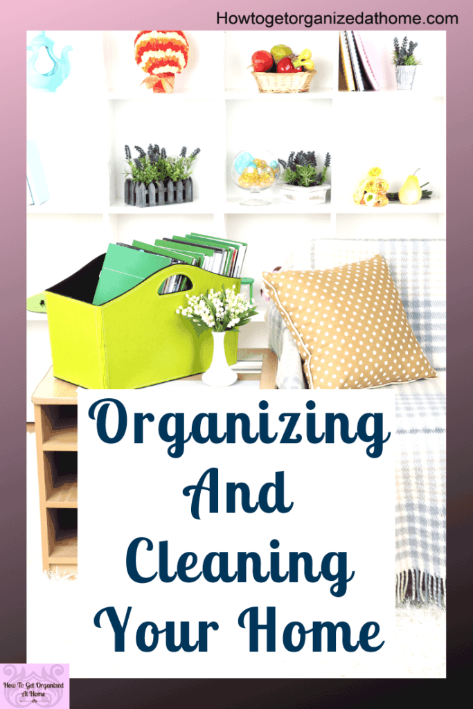 When it comes to organizing your home I think there are some things you need to do first. Find out the process I think is importatnt to organize and clean your home. #organize #clean #depression